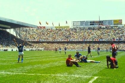 Último juego del Tri frente a Italia en los cuartos de final en Toluca (Foto: Twitter/estadiosdemexico)