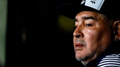 Diego Armando Maradona (Foto: EFE/ Juan Ignacio Roncoroni/Archivo)