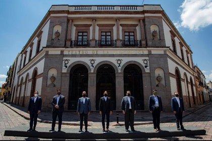 Los mandatarios estatales han planteado incluso que se reevalúe el pacto fiscal de la Federación (Foto: Twitter @GOAN_MX)