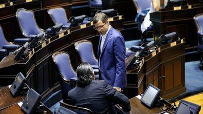 El legislador del Frente de Todos Juan Pablo De Jesús (Nicolás Aboaf)