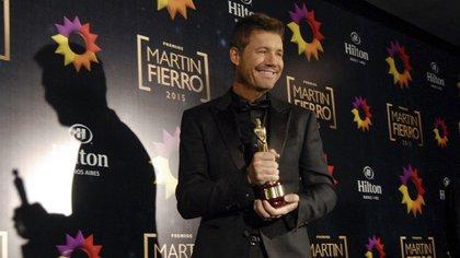 En 1997 ganó el Martín Fierro de Oro