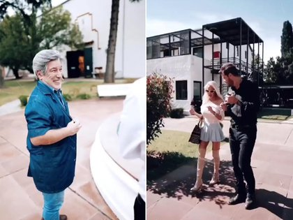 Pachu Peña y Luciana Salazar serán parte del ciclo que se emite desde Estudios Baires, en Don Torcuato (Foto: @marcelotinelli)
