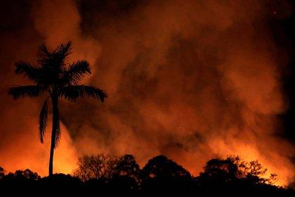 El humo del Amazonas llegó a las grandes ciudades de Brasil y a otros países, como Uruguay