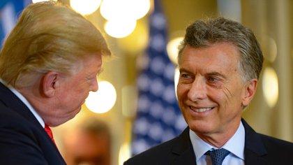 Donald Trump y Mauricio Macri, en su última reunión bilateral antes del G20 de Argentina