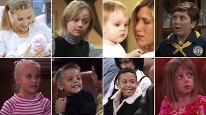 """Qué fue de la vida de los niños de """"Friends"""" … y cómo se ven ahora"""
