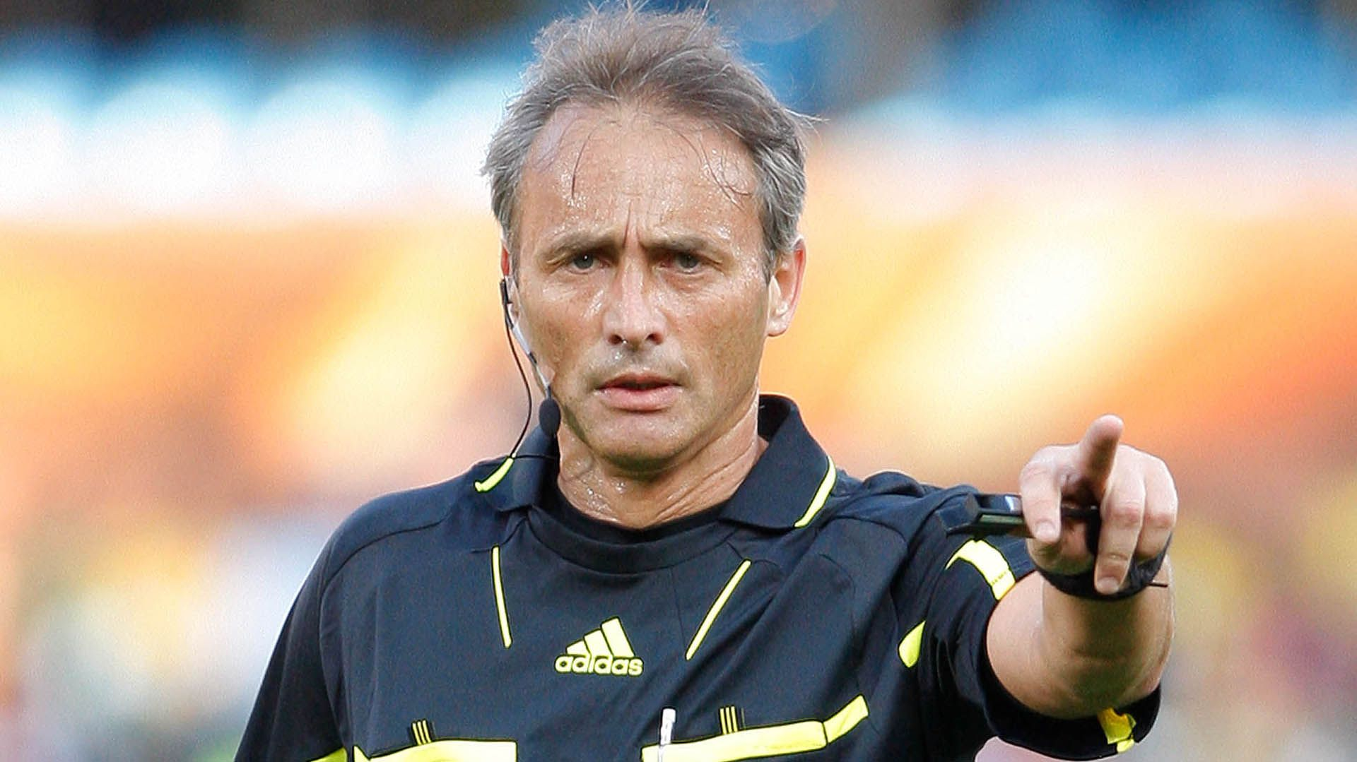 Héctor Baldassi durante fue árbitro entre 1997 y 2011