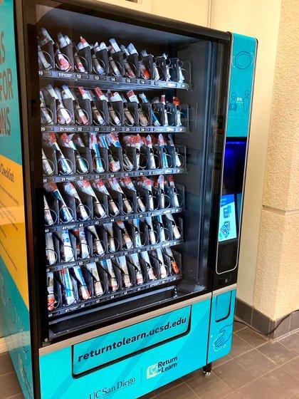 Instalaron máquinas expendedoras de tests de coronavirus en California