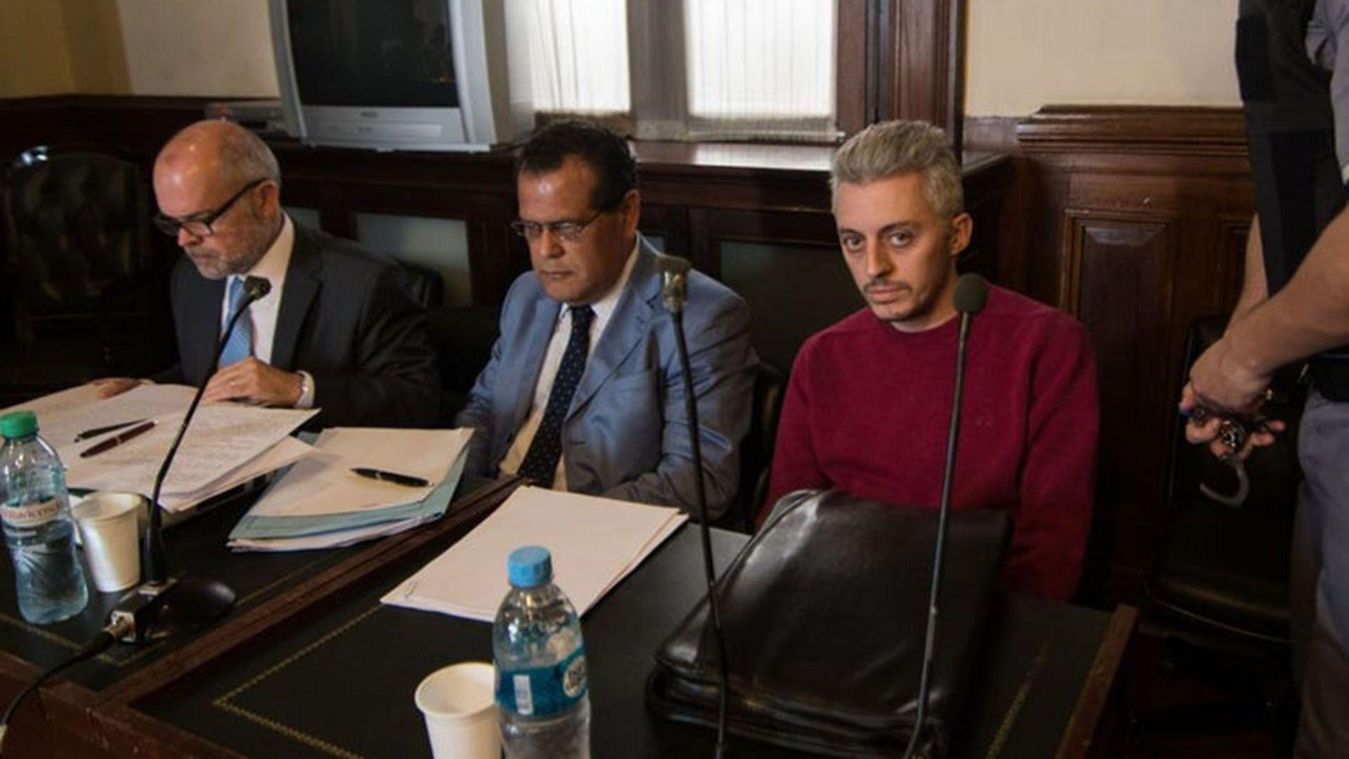 Santiago Corona, durante el juicio en 2017