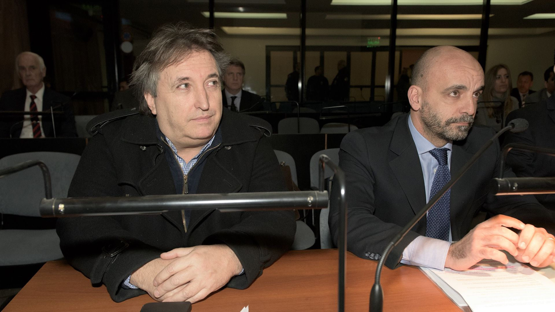 José María Núñez Carmona durante una audiencia del juicio (foto Adrián Escandar)