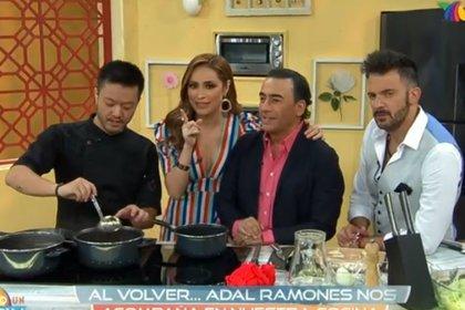 """Adal Ramones fue invitado en la nueva etapa de """"Todo un show"""""""
