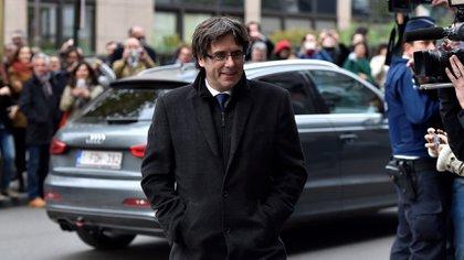 El presidente catalán Carles Puigdemont se encuentra exiliado en Bélgica. La Justicia española lo busca por sedición (Reuters)