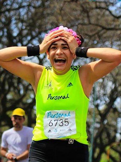 Desde hace algunos años Eugenia Lencinas descubrió una nueva pasión: el running
