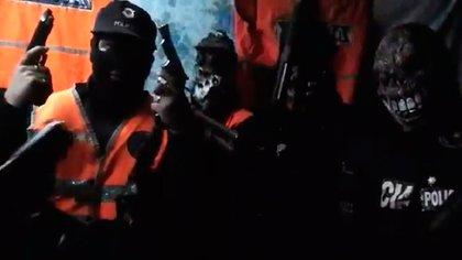 La Banda del Millón en unvideo casero amenazó policías, fiscales y periodistas