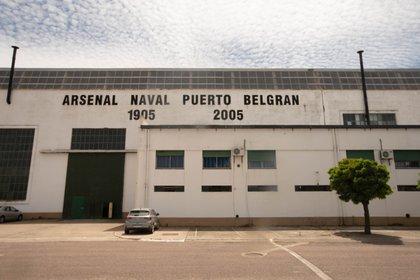 Un punto clave en la vida operativa de la base. El Arsenal Naval, otra obra con la impronta del Genovés Luis Luiggi