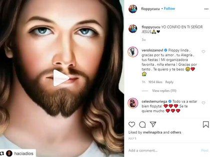 El último mensaje de La Floppy  en Instagram