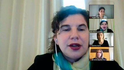Julia Pomares es la directora ejecutiva de CIPPEC.