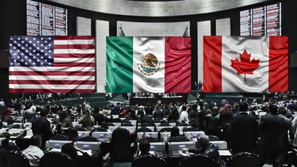 Los acuerdos comerciales entre las naciones de Norteamérica que entraron en vigor desde el primer minuto de este 1 de julio(Fotoarte: Steve Allen)