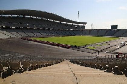 El Estadio Olímpico Ataturk recupera la condición de sede para la final tal y como estaba previsto para el pasado curso y que la pandemia le arrebató. EFE/EPA/TOLGA BOZOGLU/Archivo