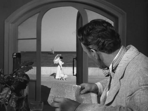 """Escena del film """"La dama del perrito"""", de Iosif Kheifits (1960)"""