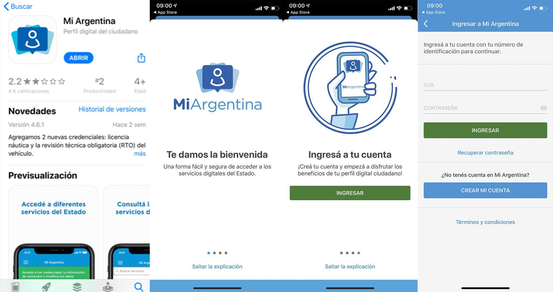 Se puede acceder al DNI digital a través de la app Mi Argentina siguiendo ciertos pasos para validar la identidad del usuario.