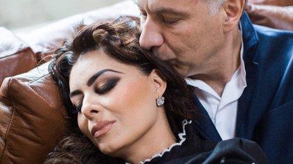 La pareja se unió en medio del escándalo, ya que anteriormente Juan Collado tenía una relación con la también actriz Leticia Calderón (Foto: Instagram: yadhira_carrillo)
