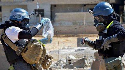 Este viernes se cumplirá el séptimo aniversario del ataque con armas químicas en Guta Oriental, en el que murieron al menos 1.400 sirios (AP)
