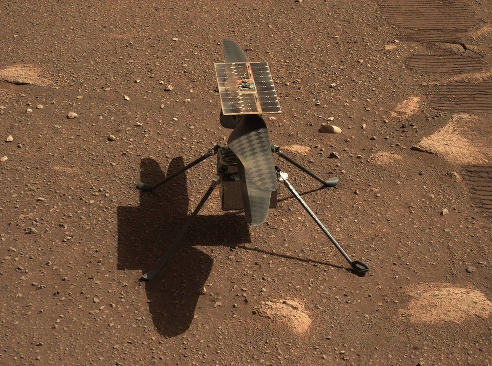 Ingenuity Mars Marte NASA