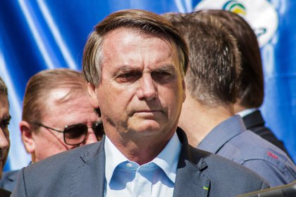 El presidente de Brasil, Jair Bolsonaro. (FEPESIL / ZUMA PRESS / CONTACTOPHOTO)