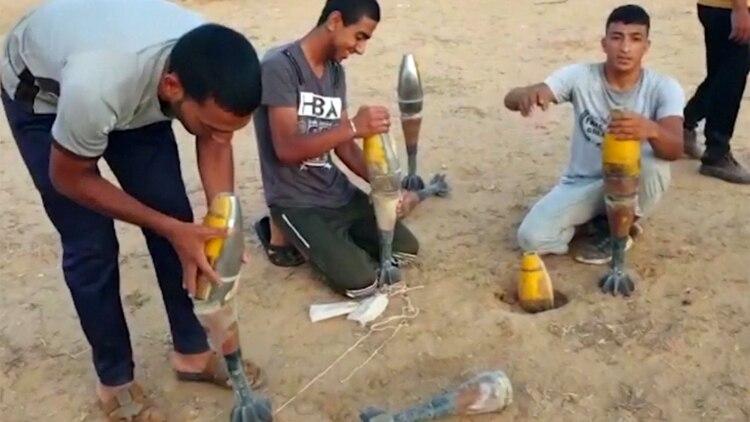 Uno de los puestos militares de Hamas destruidos por las fuerzas israelíes