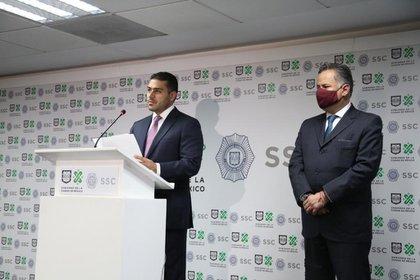 Omar García Harfuch, el titular de la Secretaría de Seguridad Ciudadana, destacó el trabajo hecho por diversas autoridades (Foto: Twitter@SSC_CDMX)