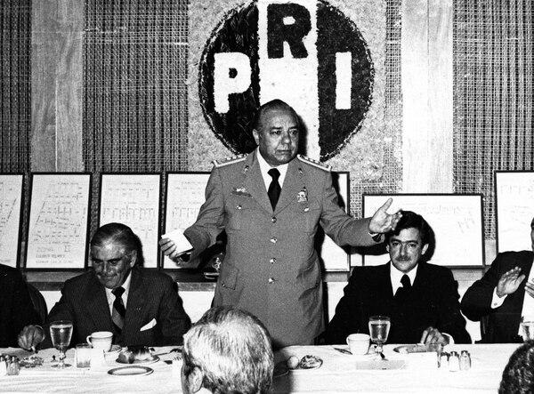Así lucía Arturo El Negro Durazo en la cúspide del poder que ejerció desde la Ciudad de México.
