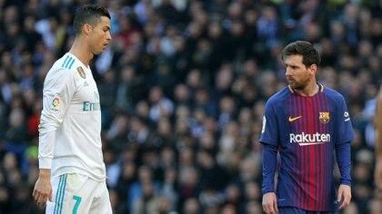 Lionel Messi y Cristiano Ronaldo mantienen la hegemonía hace una década