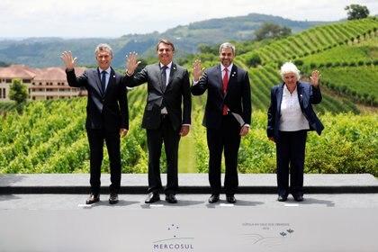 En la última Cumbre de Presidentes del Mercosur no se tomaron decisiones de importancia por el inminente recambio de autoridades en Argentina y Uruguay, que fue representada por su vicepresidente, Lucía Topolansky
