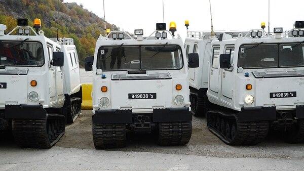 Estos vehículos son utilizados para transportar a los soldados (Fotos: FDI)
