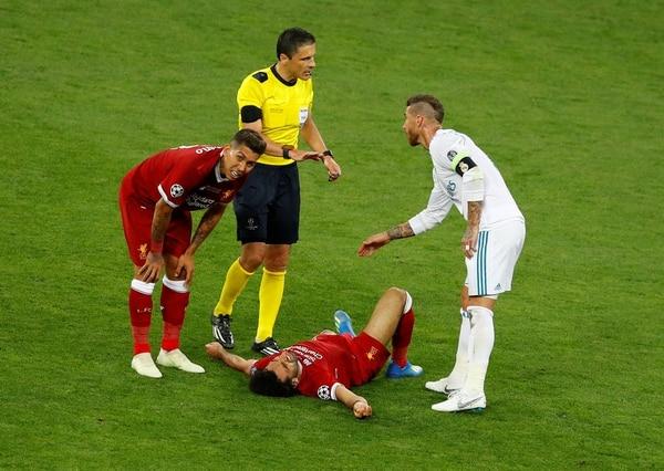 Ramos no fue sancionado por la infracción (Reuters)