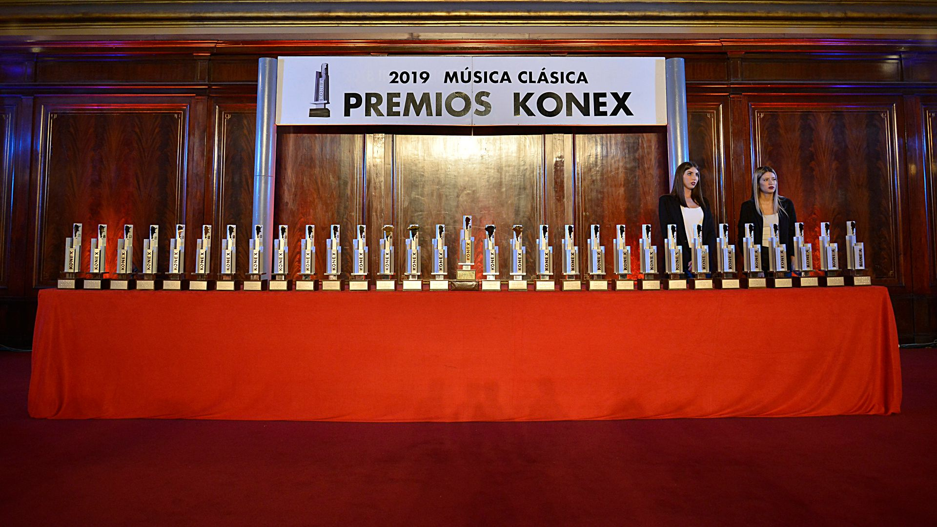Año a año, la Fundación Konex distingue a argentinos sobresalientes. En 2020 no pudo hacerse acto de entrega por las restricciones de la pandemia.