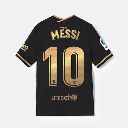 Barcelona sorprendió con su nueva camiseta suplente