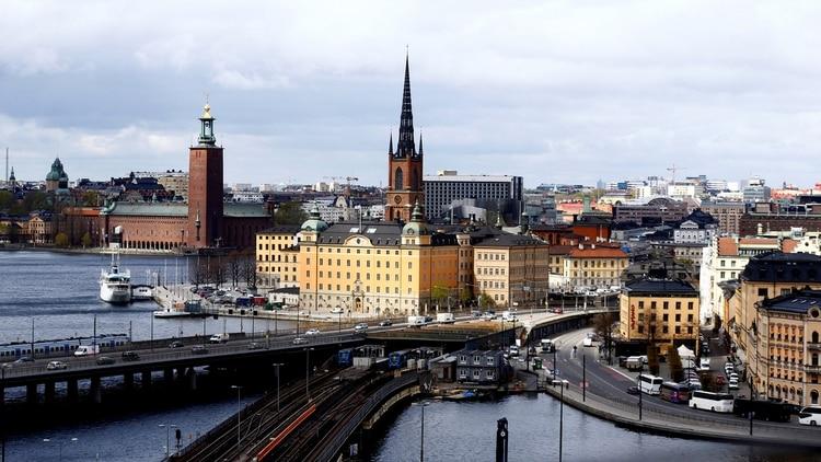 Estocolmo, la capital de Suecia, que continua al tope del ranking de reputación de países. (Reuters)