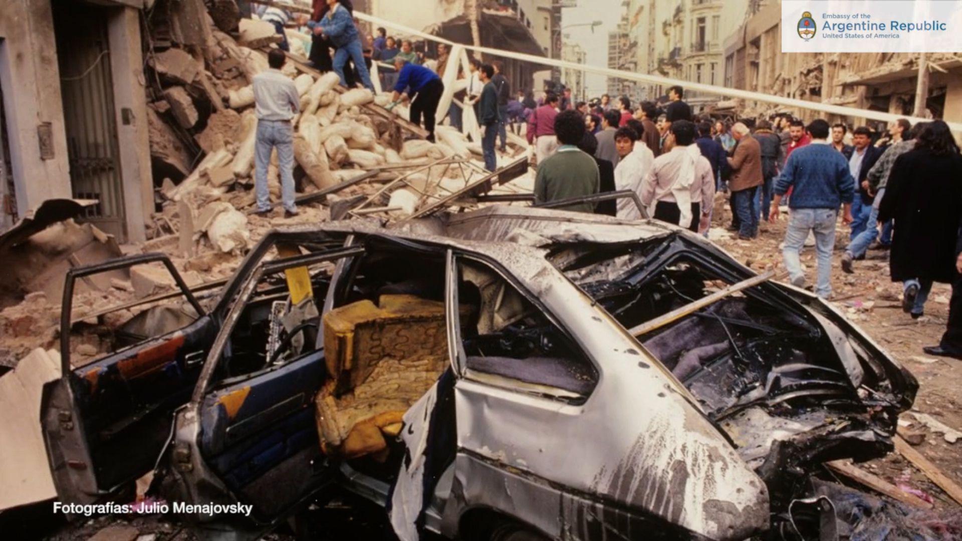 Atentado a la AMIA - 18 de julio 1994