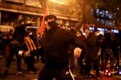Las manifestaciones a favor de Pablo Hasel (Fotos: REUTERS/Nacho Doce)