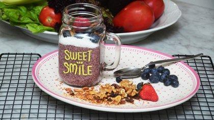 Mousse de chía para el desayuno (Matías Arbotto)