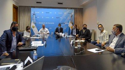 También participaron Santiago Cafiero, Sergio Massa y Máximo Kirchner