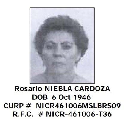 La primera esposa del narco con quien se casó cuando él tenía 17 años y ella 19 (Foto: OFAC)