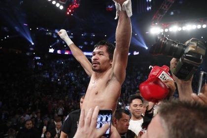 Manny Pacquiao sta ancora facendo la storia a 40 anni (AP)