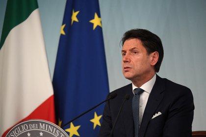 El primer ministro italiano Giuseppe Conte (REUTERS/Alberto Lingria)