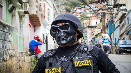 Un funcionario de la DGCIM (Felipe Romero)