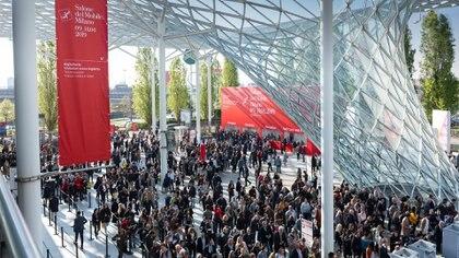 Este año el Salone del mobile conto con más de  2.418 expositores de todo el mundo y los pabellones especiales del año fueron Euroluce, Workplace 3.0 y S.Project.  (Crédito: Prensa Salone del mueble)