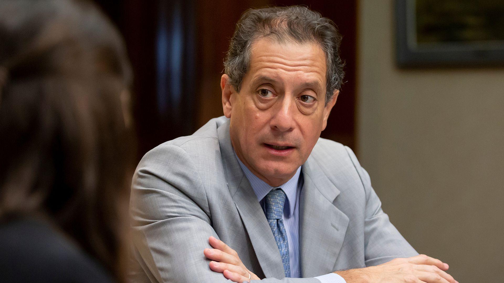 El titular del Banco Central, Miguel Pesce. (Maria Amasanti/Bloomberg)