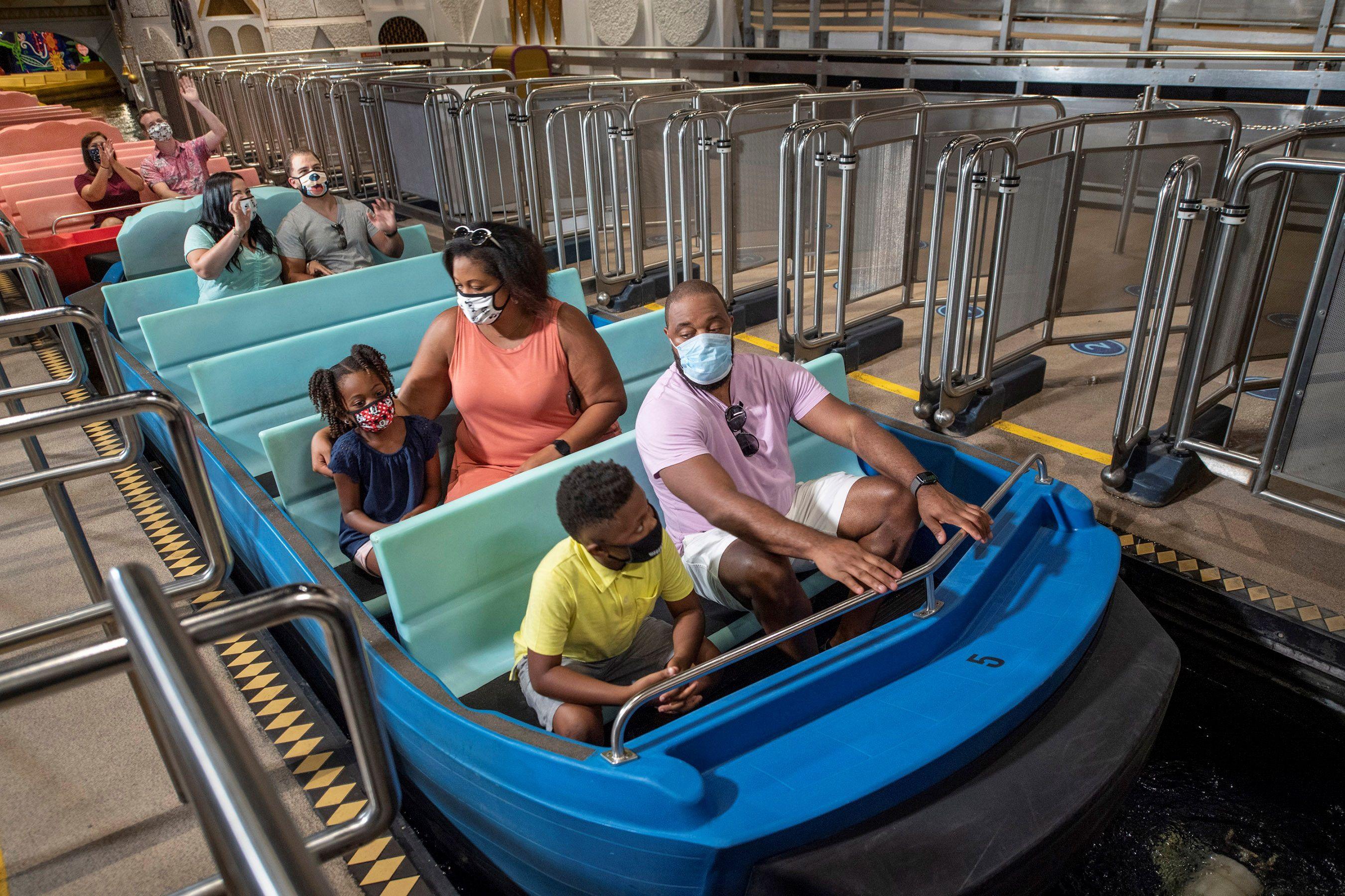 Reapertura de Disney en Orlando