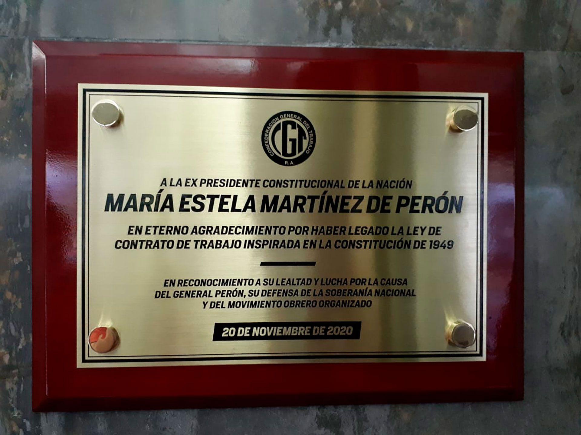 CGT Isabel Perón
